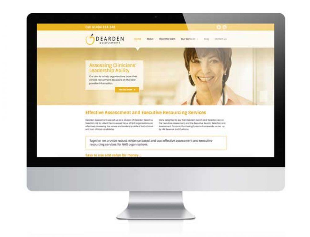 Dearden Assessment Website Design
