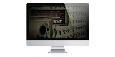 WSP Textiles - Website Design Stroud