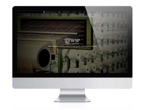 WSP Textiles Website Design Stroud, Gloucestershire