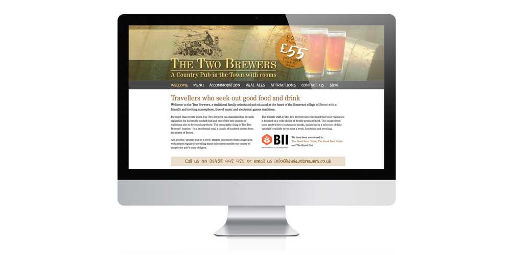2 Brewers Design & Build of mobile website