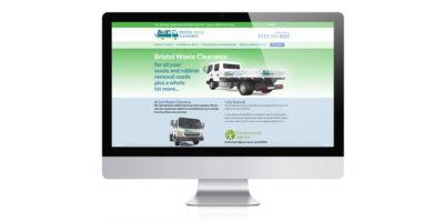 Rubbish clearance company - wordpress design