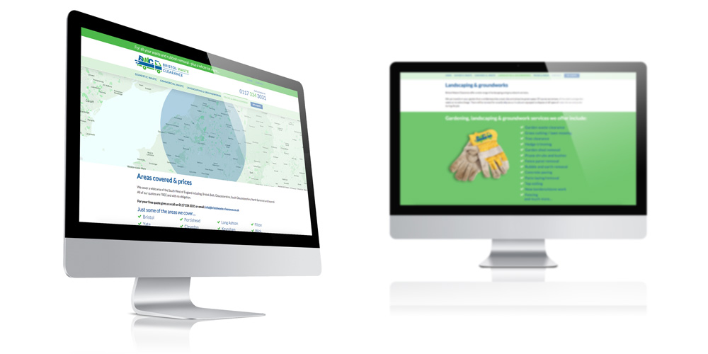 Bristol Waste Clearance - website design & build