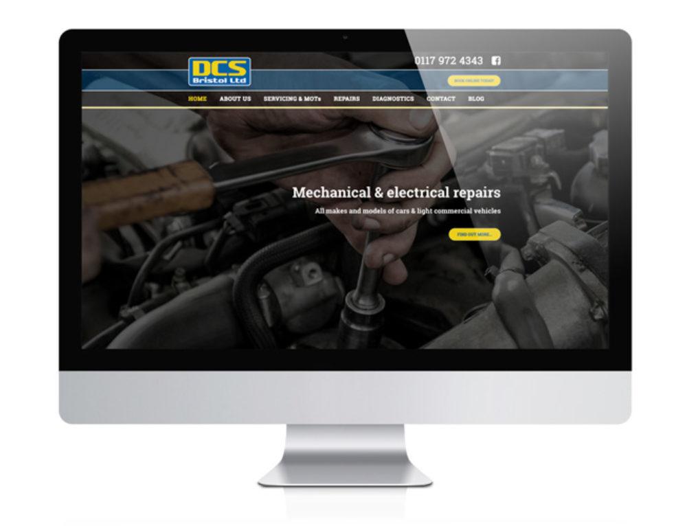 DCS Bristol Ltd Website Design Brislington, Bristol