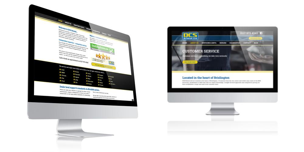 Garage in Brislington - Website design & build