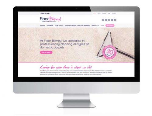 Floor Blimey! Website Design Weston-super-Mare